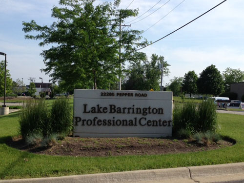 Lake Barrington Location